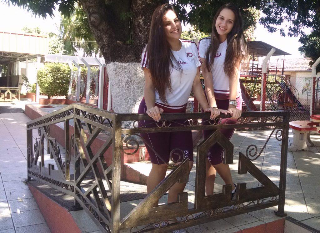 Aline e Camilla - Candidatas CCJ a Garota Estudantil 2016